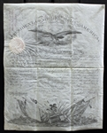 Franklin Pierce & Jefferson Davis RARE Signed Presidential Military Appointment (Beckett/BAS)