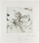 "Marilyn Monroe Phenomenal Signed & Inscribed 14"" x 15"" Cecil Beaton Portrait Photograph (Beckett/BAS & JSA)"