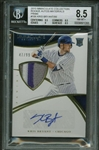 Kris Bryant Signed 2015 Panini Immaculate Collections RC Auto Patch Card - BGS 8.5 w/ GEM MINT 10 Auto!