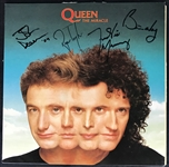 "Queen Rare c. 1989 Group Signed ""The Miracle"" Album (REAL/Epperson)"