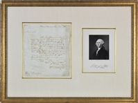 George Washington ULTRA-RARE Handwritten & Signed 1785 Letter w/ Foreign Relations Content (Beckett/BAS)