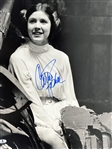 "Star Wars: Carrie Fisher Signed 16"" x 20"" Color Photograph (BAS/Beckett)"