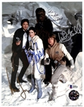 "Star Wars: Carrie Fisher, Harrison Ford, Mark Hamill & Peter Mayhew Signed 8"" x 10"" Photograph (Beckett/BAS)"