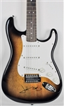 Jeff Beck Signed Fender Squier Stratocaster Guitar w/ On the Body Autograph (BAS/Beckett)