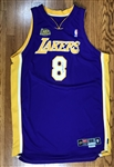 2000-01 Kobe Bryant Game Worn NBA Finals LA Lakers Jersey (DC Sports)