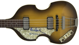 Paul McCartney ULTRA-RARE Signed Authentic Stage Model Vintage '63 Hofner Bass (PSA/DNA)