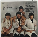 "The Beatles: Paul McCartney Signed ""Yesterday & Today"" Butcher Cover (Beckett/BAS Guaranteed)"