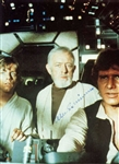 "Alec Guinness Rare Signed 3.5"" x 5"" w/ Ford & Hamill (JSA)"