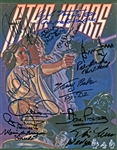 "Star Wars Exceptional Cast Signed 8"" x 10"" Photograph w/ Hamill, Ford, Fisher & Others! (Beckett/BAS Guaranteed)"