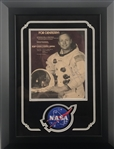 "Apollo 11: Neil Armstrong Signed Un-Inscribed 8"" x 10"" Magazine NASA Photograph (PSA/DNA)"