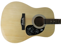 Rascal Flatts Group Signed Acoustic Guitar (BAS/Beckett)