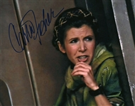 "Star Wars: Carrie Fisher Signed 8"" x 10"" ROTJ Photograph (Beckett/BAS Guaranteed)"
