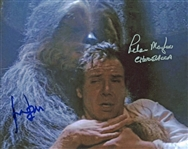"Star Wars: Harrison Ford and Peter Mayhew Dual Signed 8"" x 10"" Photograph (Beckett/BAS Guaranteed)"