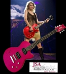 Taylor Swift Incredible Signed Daisy Rock Electric Guitar! (JSA)