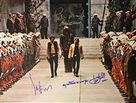 "Star Wars Impressive 16"" x 20"" Cast Signed Photo with Ford, Hamill & Mayhew (Beckett/BAS Guaranteed)"