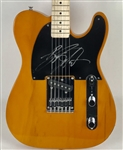 Bruce Springsteen Signed Butterscotch Fender Squier Telecaster Guitar (Beckett/BAS)