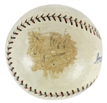 RARE Vintage Ty Cobb Signed OAL Reach (Johnson) Baseball c. 1926-27 (BAS/Beckett)