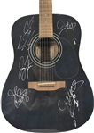 NSYNC Rare Vintage Group Signed Guitar w/ All Five Members! (JSA)