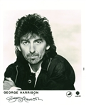 "The Beatles: George Harrison Near-Mint Signed 8"" x 10"" Promotional Photograph (Becket/BAS Guaranteed)"