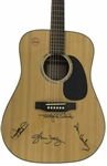 The Eagles Group Signed Takamine Acoustic Guitar w/ Henley, Walsh, Frey & Schmit (PSA/DNA)