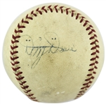 Dizzy Dean Rare Single Signed OAL (Harridge) Baseball (JSA)