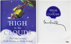"The Beatles: Paul McCartney Signed ""High in the Clouds"" 1st Edition Hardcover Book (PSA/DNA)"