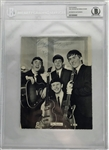 "The Beatles: Paul McCartney & Ringo Starr Signed 6"" x 8"" Promotional STAR Photograph Card (Beckett/BAS Encapsulated)"