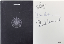 "Pink Floyd Group Signed ""Shine On"" Hardcover Book w/ Gilmour, Mason & Wright (Beckett/BAS)"