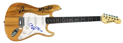 Fleetwood Mac Group Signed Stratocaster-Style Guitar w/ 3 Sigs (ACOA)
