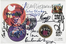 "The Beatles: Exceptional Multi-Signed 4.5"" x 7"" First Day Cover w/ McCartney, Ringo, Martin & Others! (Beckett/BAS Guaranteed)"