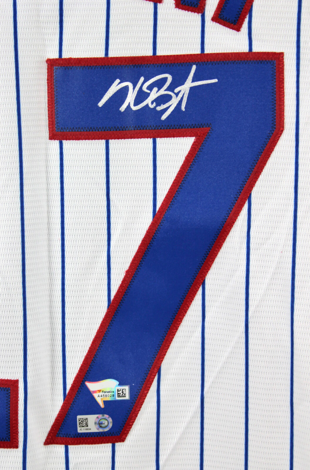 9a19ee671 Lot Detail - Kris Bryant Signed Chicago Cubs Jersey (MLB   Fanatics)