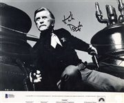 "Kirk Douglas Signed 8"" x 10"" Lobby Card from ""Posse"" (BAS/Beckett)"
