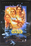 "Star Wars: A New Hope Impressive Cast Signed 27"" x 40"" Poster with Ford, Fisher, Hamill, etc (9 Sigs)(Beckett/BAS & PSA/DNA)"
