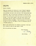 Leon Trotsky Signed 1933 Typed Letter (Beckett/BAS)