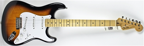 Eric Clapton 2014 Fender Custom Shop Stratocaster - Personally Owned and Played on Stage During 2014 World Tour & 2015 Royal Albert Hall Performance (Personal COA from Clapton)(EXACT PHOTO MATCH)