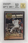 Derek Jeter Signed 1995 Action Packed 24k Rookie Card - BGS 8.5, 9 Auto!