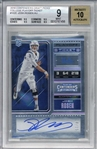 Josh Rosen Signed 2018 Panini Contenders Draft Picks College Playoff Ticket Card - Beckett/BGS 9 w/ 10 Auto