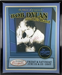 "Bob Dylan Signed 31"" x 40"" Concert Poster for 2007 Atlantic City, NJ Concert with BOLD Autograph (Epperson/REAL)"