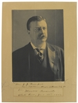 "Theodore Roosevelt Signed Portrait Photograph - Signed & Dated as President w/ ""White House"" Inscription! (Beckett/BAS)"