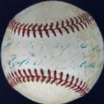 "Roberto Clemente Unique Vintage Single Signed & Inscribed ""Como Siempre"" ONL (Feeney) Baseball (JSA)"