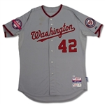 Bryce Harper Game Used 2015 Jackie Robinson Day Jersey - MVP Year! (MLB & Photo Match)