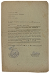Cuban Revolution: Raul Castro & Che Guevara Rare Dual-Signed 1962 Work Release Document (BAS/Beckett)