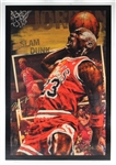 "Michael Jordan Signed Limited Edition All Star Proof Canvas Giclee - ""Slam Dunk"" by Stephen Holland (UDA)"