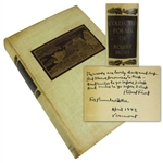 "Robert Frost ULTRA-RARE Signed ""Collected Poems"" Hardcover Book w/ ""Stopping by Woods on a Snowy Evening"" Inscription (Beckett/BAS Graded GEM MINT 10!)"