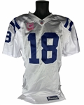 "Peyton Manning Game Used & Signed 2009 Indianapolis Colts Jersey During MVP & 14-0 ""Season"" (PSA/DNA & NFL)"