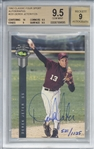 Derek Jeter Rare Signed 1992 Classic Sport /1125 Rookie Card (BGS 9.5 w/ 9 Auto!)