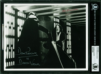 "Star Wars: Alec Guinness & David Prowse Dual Signed 8"" x 10"" Lightsaber Battle Photo (Beckett/BAS Encapsulated)"