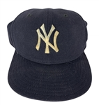 Derek Jeter Rare Game Used/Worn c.1998 New York Yankees Hat (PSA/DNA)