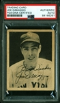Joe DiMaggio Rare Signed 1939 Play Ball #26 Rookie Card (PSA/DNA Encapsulated)