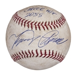 Miguel Cabrera 2014 Game Used & Signed OML Baseball from 2,055th Career Hit Game! (MLB)